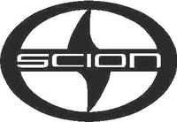 Scion Logo Decal / Sticker 01