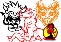 Devil Decals and Devil Stickers