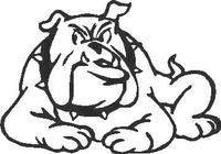 BullDog Decal / Sticker 04