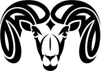 Ram Decal / Sticker 17