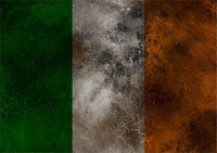 Ireland Flag Decal / Sticker 04