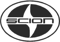 Scion logo Decal / Sticker 02