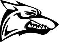 Coyote Decal / Sticker 03