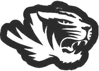 Tiger Decal / Sticker 01