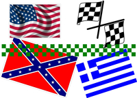 Flag Decals and Flag Stickers