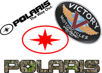 Polaris Decals and Polaris Stickers