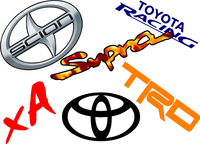 Toyota Decals and Toyota Stickers