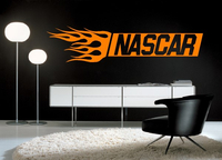 NASCAR WALL DECALS and NASCAR WALL STICKERS