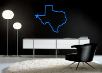 STATE WALL DECALS and STATE WALL STICKERS