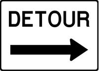 Detour Decal / Sticker 02