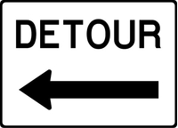 Detour Decal / Sticker 04