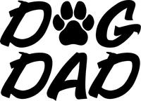 Dog Dad Decal / Sticker 01