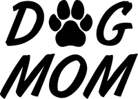 Dog Mom Decal / Sticker 01