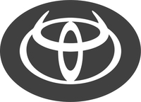 Toyota Devil Horns Decal / Sticker 04