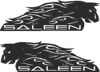 Saleen Decal / Sticker 02