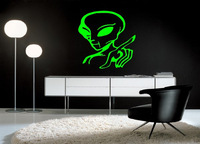 ALIEN WALL DECALS and ALIEN WALL STICKERS