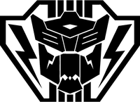 Autobot Lightning Strike Coalition Transformers Decal / Sticker