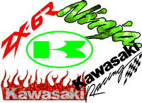 Kawasaki Decals & Stickers