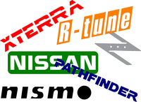 Nissan Decals and Stickers
