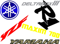 Yamaha Decals and Yamaha Stickers