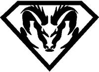 SuperRam Decal / Sticker 02