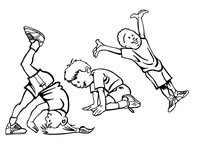 Kid Gymnast Decal / Sticker