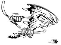 Storm Mascot Decal / Sticker 6