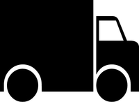 Delivery Truck Decal / Sticker 01