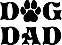 Dog Dad Decal / Sticker 03