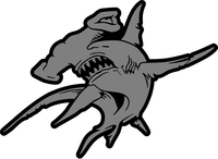 Hammerhead Shark Decal / Sticker 21