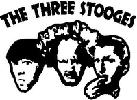 3 Stooges Decal / Sticker Design 2