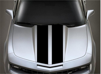 6 Inch Dual Racing Stripe Decal / Sticker