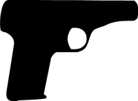 .45 ACP Gun Decal / Sticker