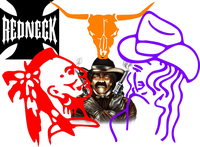 Cowboy Decals and Stickers