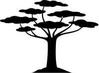 Tree Decal / Sticker 04