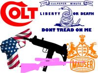 Gun Decals & Gun Stickers