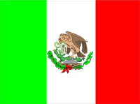 Mexican Flag Decal / Sticker 03