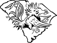 South Carolina Decal / Sticker 03