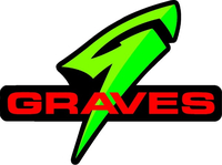 Graves Motorsports Decal / Sticker 11