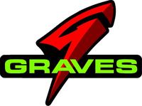 Graves Motorsports Decal / Sticker 12