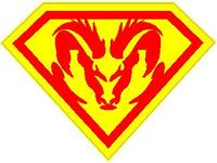 SuperRam Decal / Sticker 03