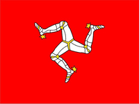 Isle of Man Flag Decal / Sticker 12