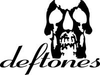 Deftones Skull Decal / Sticker 09