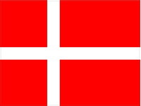 Denmark Flag Decal / Sticker