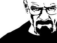 Breaking Bad Heisenberg (Walter White) Decal / Sticker 08