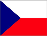 Czech Republic Flag Decal / Sticker