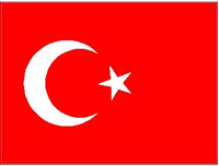 Turkey Flag Decal / Sticker