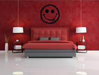 HAPPY FACE WALL DECALS and HAPPY FACE WALL STICKERS