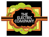 Sesame Street The Electric Company Decal / Sticker 01