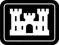 U.S. Army Corps of Engineers Decal / Sticker 02
